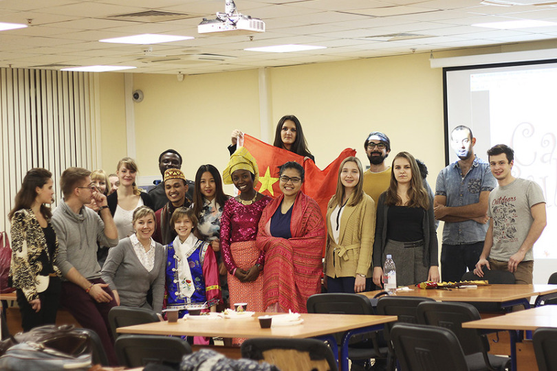 Cultural Cafe Takes Place at HSE