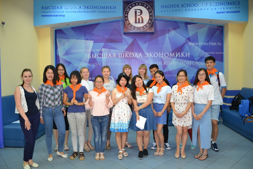 Chinese Students at HSE Nizhny Novgorod