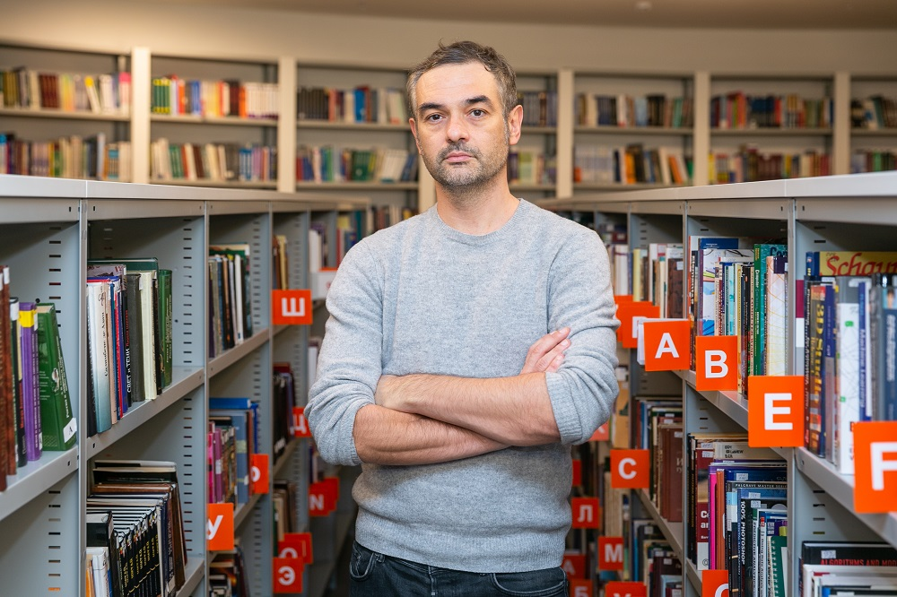 Programme Academic Supervisor and HSE Assistant Professor Panos Kompatsiaris